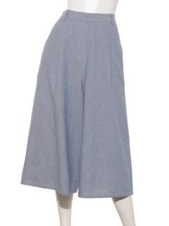 【chocol raffine robe】ダンガリーワイドパンツ