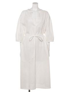 【chocol raffine robe】スキッパーギャザーワンピース