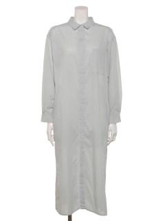 【chocol raffine robe】綿ローンシャツワンピース