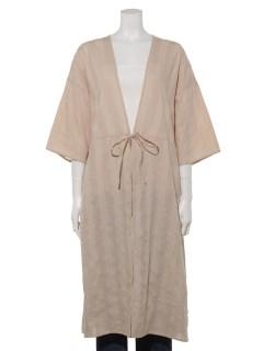【chocol raffine robe】羽織りシャツワンピース