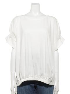 【chocol raffine robe】デザインドッキングプルオーバー