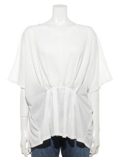 【chocol raffine robe】ドルマンギャザープルオーバー