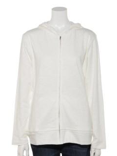 【chocol raffine robe】フード付きジップパーカー