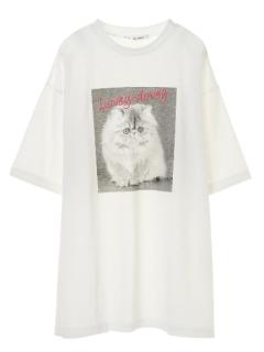 【RAY CASSIN】CAT転写チュニックT