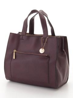 【T.S.L】1枚合皮2wayミニトートバッグ