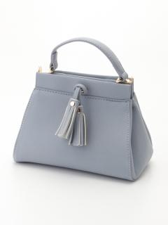 【MIAN】タッセル付きミニ2wayバッグ