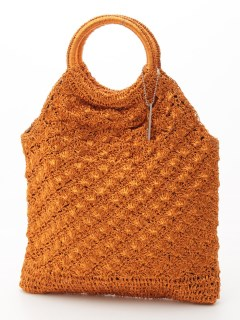 【MIAN】かぎ編みトートバッグ