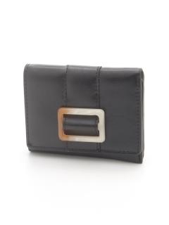 【Leur】樹脂バックルミニ財布