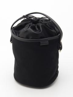 【COLDE】筒型2WAY巾着バッグ