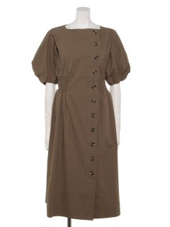 ボリュームスリーブドレス
