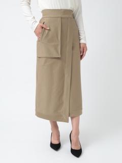 アシンメトリーカーゴスカート