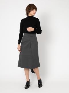 ストレッチツイルデザインスカート