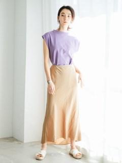 リヨセル麻ナロースカート