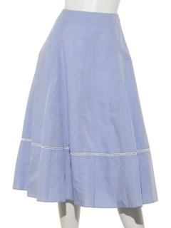 H ハシゴレースフレアスカート