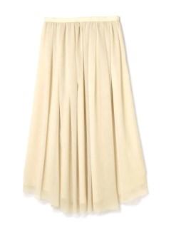 H 楊柳マキシスカート