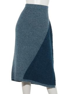 イタリア糸切替スカート