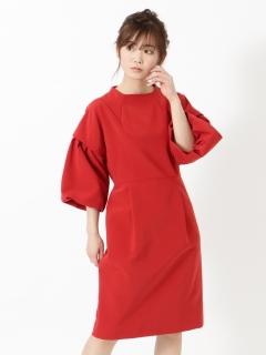 【日本製】ダブルクロスドレス