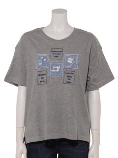 SEWING刺繍Tシャツ
