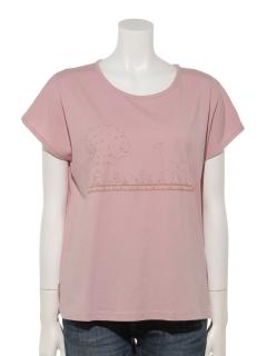 SAVANNA刺繍Tシャツ