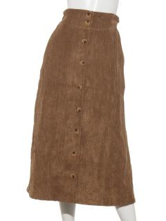 コールテンロングスカート
