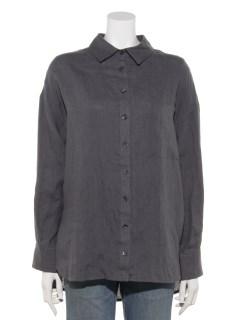 フレンチリネンビックシルエット2WAYシャツ