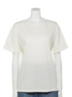 ・ドロップショルダーTシャツ