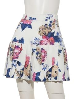 Vintage Flower プリーツスカート