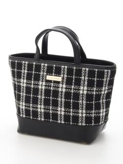 Tweed チェックツイードカートバッグ
