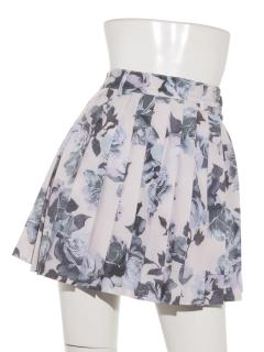 ROSE FLOWER プリーツスカート