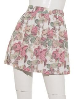 GOBELIN FLOWER プリーツスカートパンツ