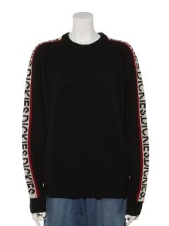 Dickies袖DickiesジャカードL/Sセーター
