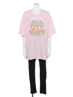 Tシャツ×レギンスセット