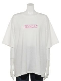 LEDボックスロゴTシャツ