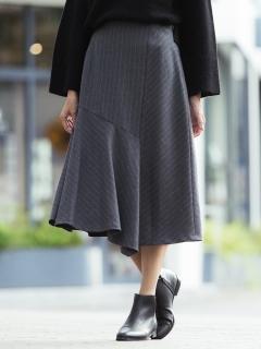 サキソニーストライプスカート