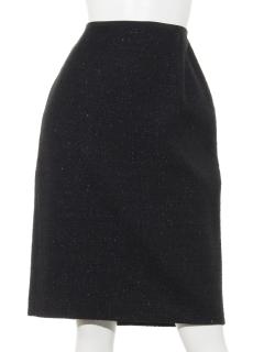 ファンシーラメツィードスカート