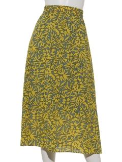 ボタニカルリーフスカート