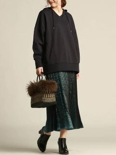 ポリエステルサテンスカート