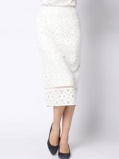 サークルキカレーススカート