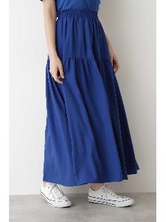 [洗える]7カラーティアードスカート