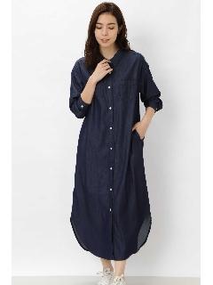 シャツ羽織りワンピース