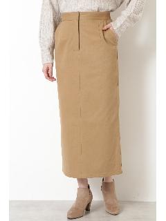 |VERY 1月号掲載|[洗える]ツイルストレッチナロースカート