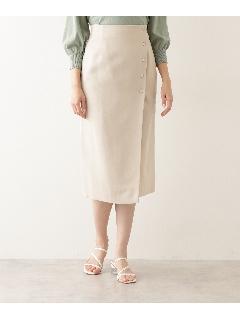 ドット釦ナロースカート