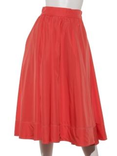 【Plegina】サテンボリュームスカート