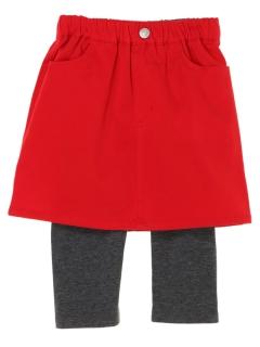 【KIDS SELECT】スパッツ付きスカート