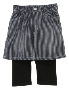 【KIDS SELECT】スパッツ付きヒッコリースカート