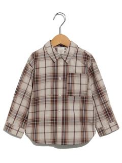 【chocol raffine robe】バンドカラーシャツ