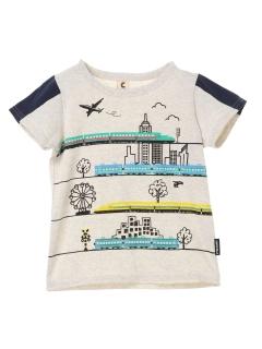 【chocola wish】新幹線乗りものTシャツ