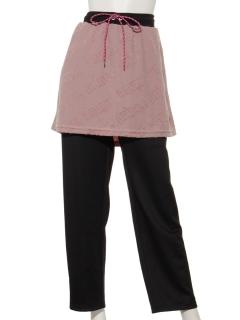 UVパイルジャガードスカート付パンツ