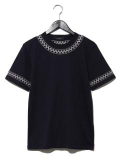 刺繍Tシャツ S/S