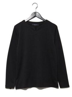 インレイキーネックTシャツ L/S